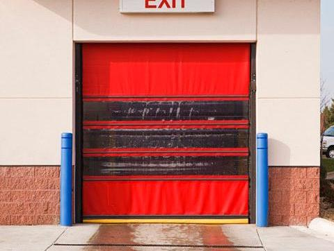 XRS Vinyl Roll Up Doors & Happy Holidays from Airlift Doors!