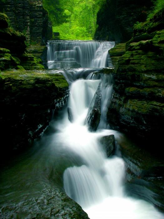 Falls in Ithaca NY