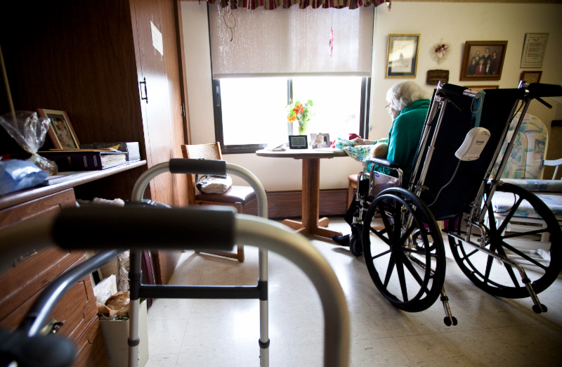 living in long term care