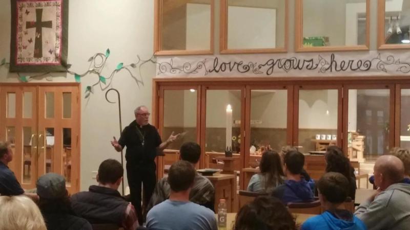 Bishop Tom at LOL Baxter Conf Class