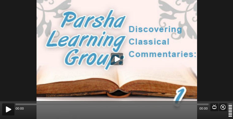 parsha learning group 1