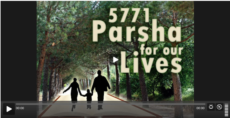 parsha for our lives
