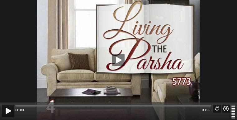 living the parsha