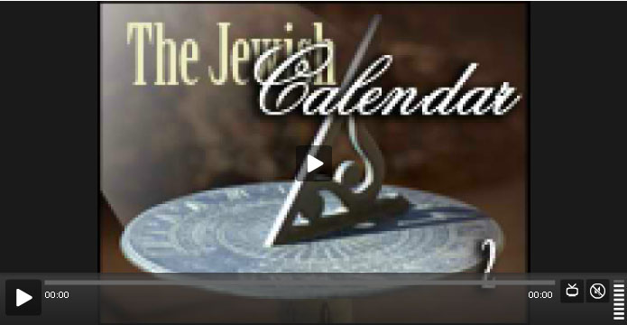 jewish calendar class #2