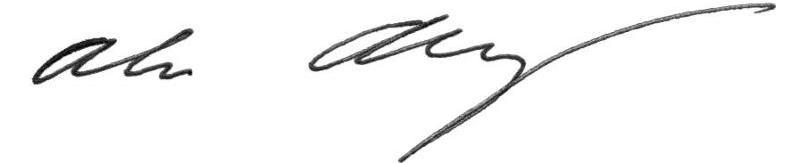 Alan' Signature
