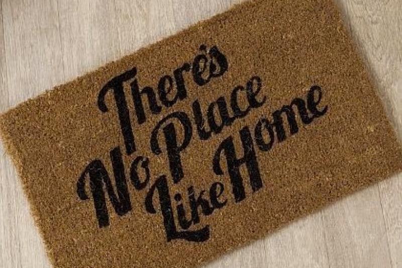 rug welcome mat