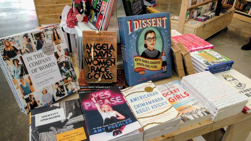 Napa Bookmine Women's History Month
