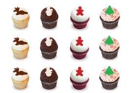 Kara's Christmas Cupcakes