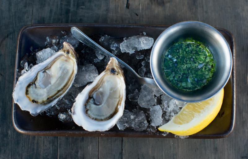 Hoy Island oysters