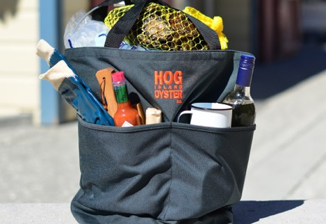 Hog Island bag of goodies