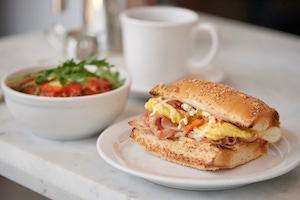 Live Fire breakfast