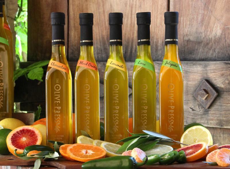 Olive Press citrus oils