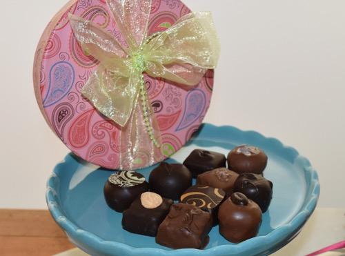 Anette's graduation chocolates