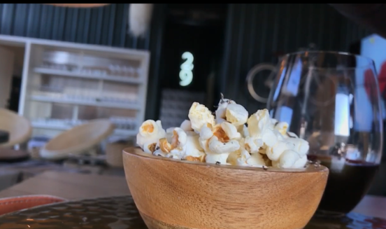 CRU truffle popcorn