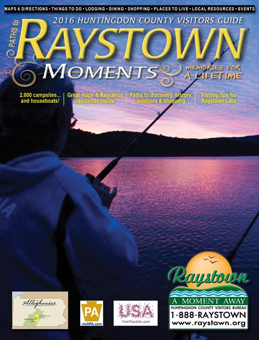 2016 Huntingdon County Visitors Guide