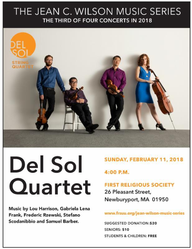 Del Sol concert flyer