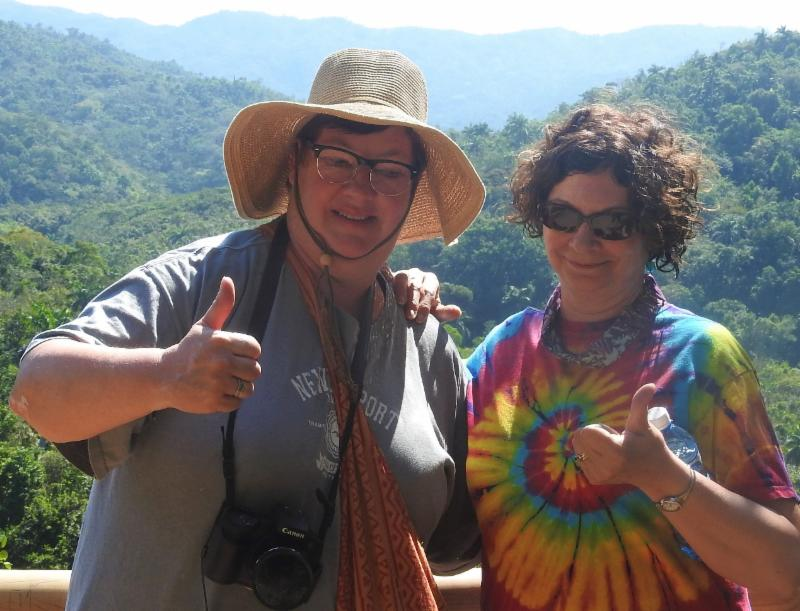 Lee and Maureen in Cuba