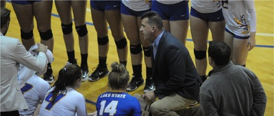 LSSU Volleyball Head Coach Schmidlin