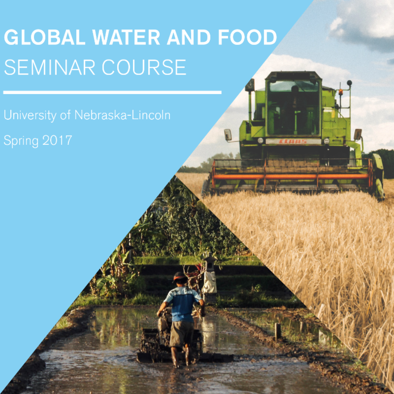 GLobal Water and Food Seminar Course