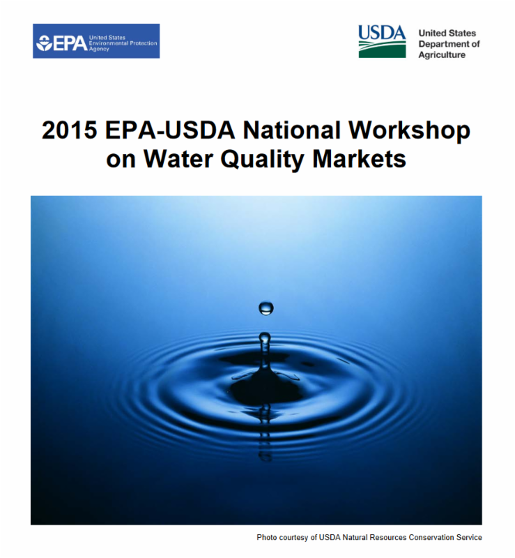 EPA USDA Report Cover
