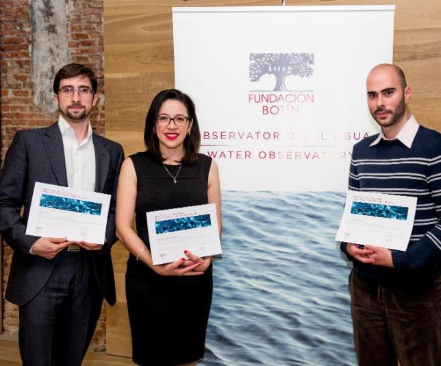 Botin Foundation award presentation