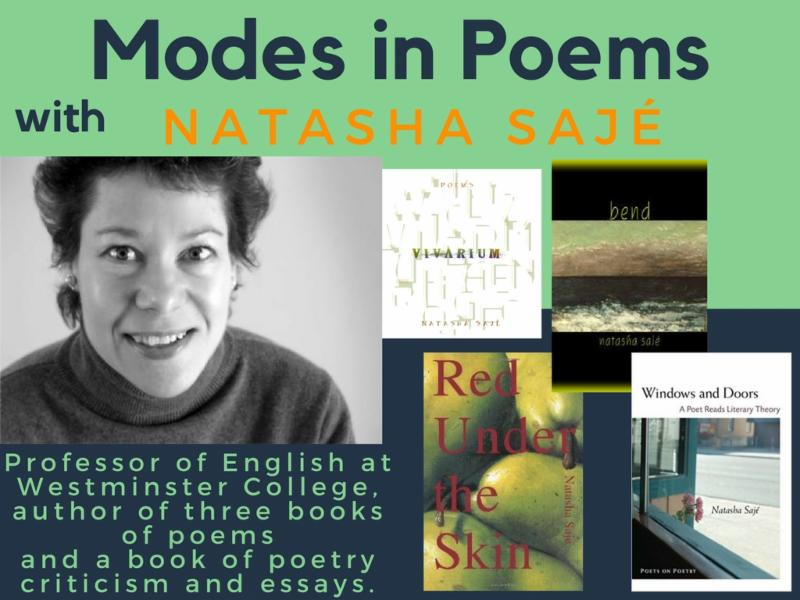 Modes in Poems with Natasha Saj_