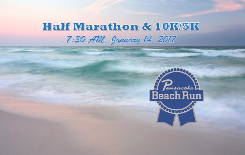 Pensacola Beach Half Marathon  Results