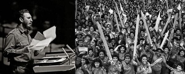 Fidel Castro and Maestra