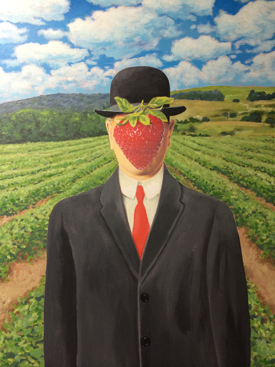 John Alesi's Strawberry Man