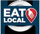 Eat Local Logo - Transparent