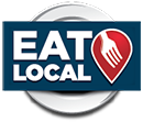 Eat Local Logo - Transparent
