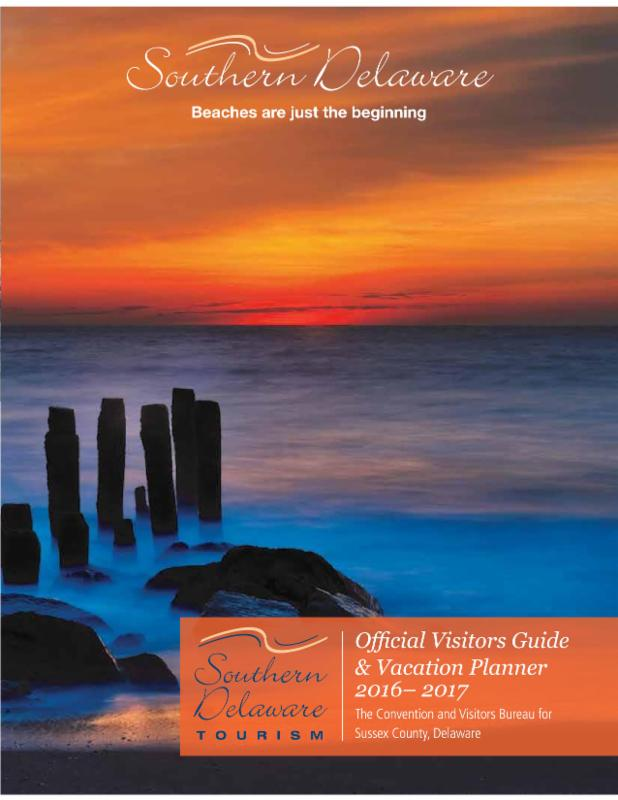 Southern Delaware Tourism 2016 2017 Visitors Guide