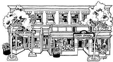 Open Door Bookstore logo