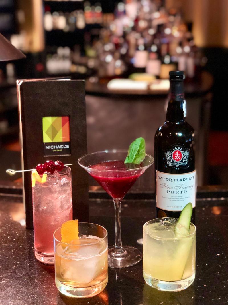 Port cocktails