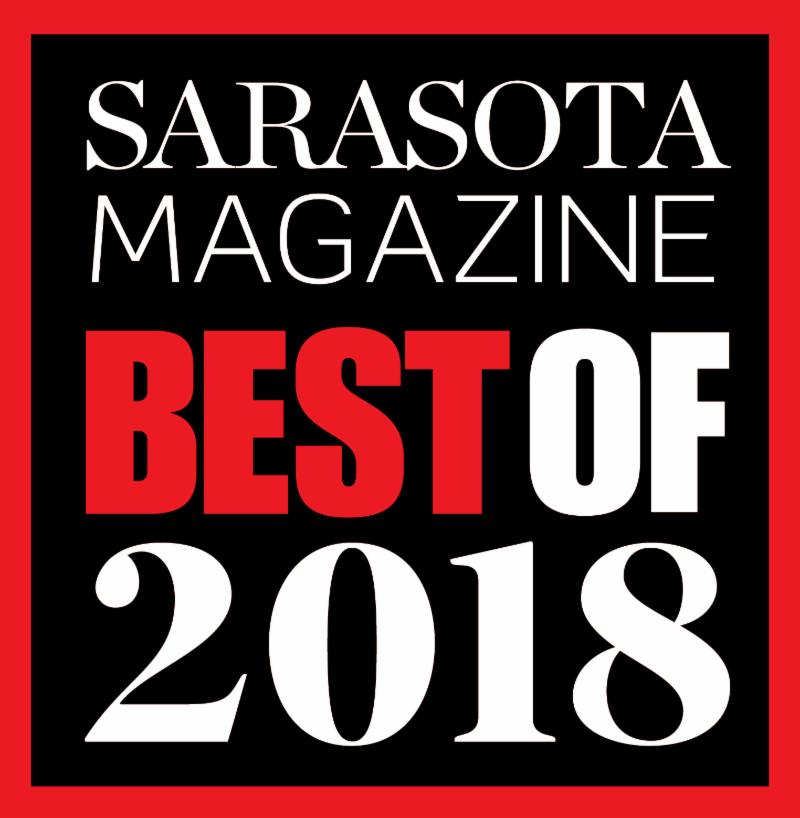 Best of Sarasota Magazine 2018 Logo