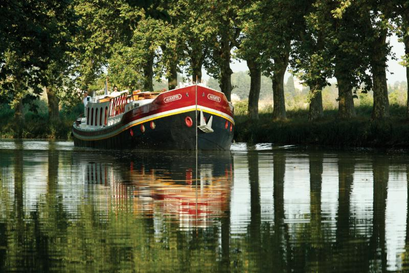 Belmond Afloat in France Reflection
