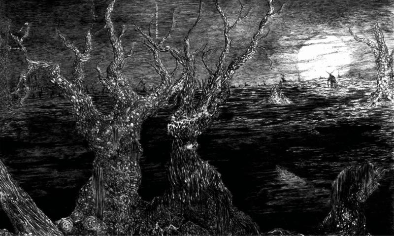 SWAMP WITCH: The Slithering Bog From Oppressive Death Doom Collective Streaming At Decibel; Record Out Now On Vinyl Via Tribunal Of The Axe