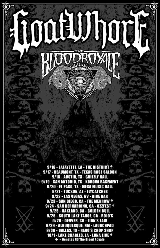 GOATWHORE Announces US Live Dates Surrounding Ozzfest Appearance This Fall