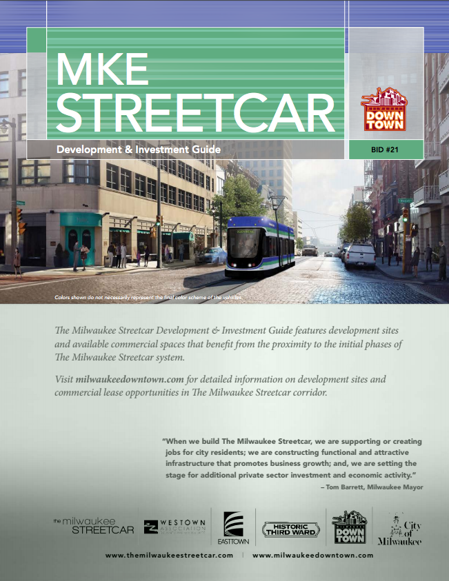 cover of MKE streetcar newsletter