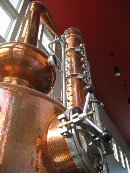 Finger Lakes Distilling Copper Still