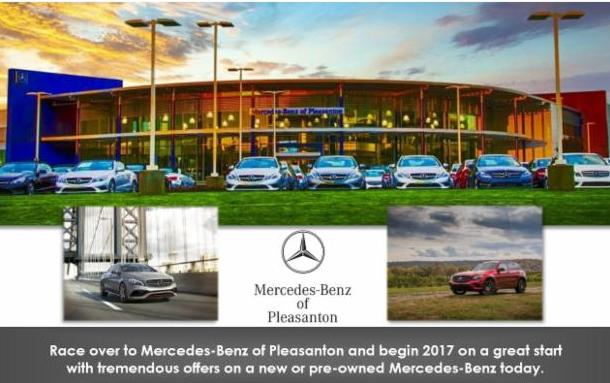 Monday update for Mercedes benz of pleasanton