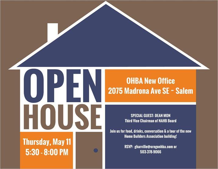 OHBA Open House