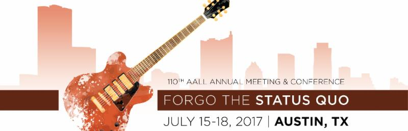 AALL 2017 Banner