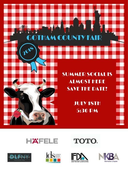 Wed  Gotham County Fair Summer Social | International