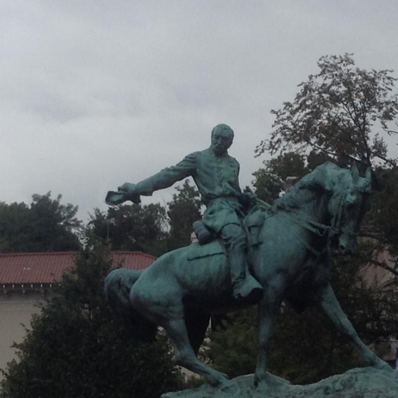 Phil Sheridan Statue