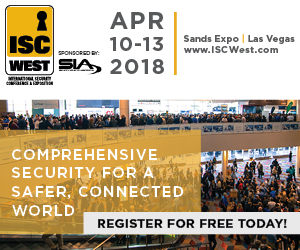 ISC-West 2018 Invitation