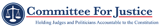 Committee for Justice banner