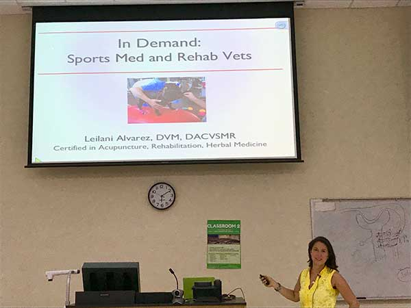 Dr. Leilani Alvarez at Ross University