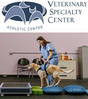 Veterinary Specialty Center logo and photo