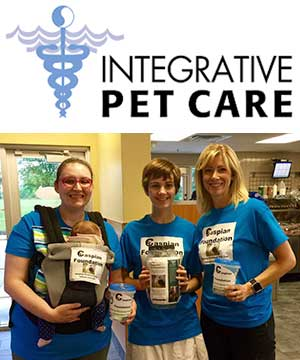 Integrative Pet Care logo and photo